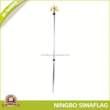Long lifetime factory directly aluminium flagpole/flag pole/telescopic flag pole