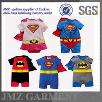 Baby toddler infant superhero clothing romper wholesale carters baby bodysuit