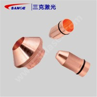 Laser cutting welding copper nozzle torch air cock