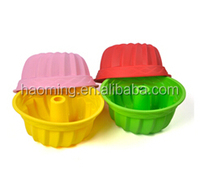 3D Eco-friendly Kitchen Accessory Chimney Shaped Silicone Mold For DIY Cake Mold Baking & Pastry Mold
