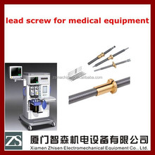 draw trapezoid lead screw with nut china guangdong