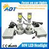 80w D2 D4 USA CR Auto LED Headlight Kit 6500k 3200lm Car D2 D4 Headlamp Fog Light Lamp Hid/halogen Light Replacement