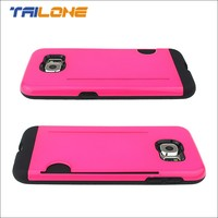 2015 unique pc tpu cases for samsung galaxy s4 case with cart slot