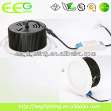 led cob downlight multi color led ceiling light/30w 2850lm CRI>80 3 years warranty