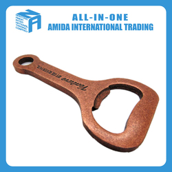 2015 high quality creative pure copper wrench beer bottle opener