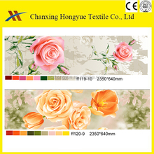 Twill 3D disperse 100 Polyester woven printed brushed fabric from changxing manufacturers