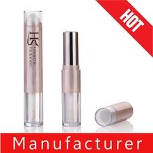 2015 Hot Sale Unique Design Empty Plastic Lip Gloss Tube Combined with Lip Balm and Lipstick Tube as One Set