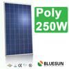 Bluesun high quality 12v panel solar 250w solar modules pv panel