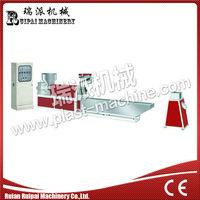 water cooling pe/pp plastic extruder film granulating machine