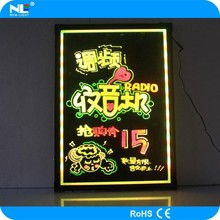 Neon led display board for advertising, 2013 new inventions led board led information board