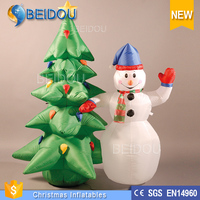 2015 Party Outdoor Laser Light Inflatable Christmas Tree Decorations for Sale