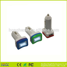 2015 hot sell popular usb car charger for mobile phone 12v solar car battery charger