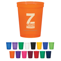 Factory directly 16OZ plastic stadium cup for for 2014 Brazil World Cup