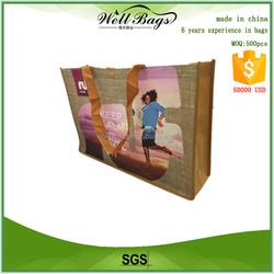 Custom eco-friendly printed shopping bag, custom shopping tote bag, custom tote bag