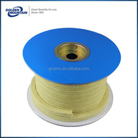 China manufacturer oem graphite packing reinforced with inconel wire