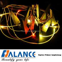 Side Glow Fiber Optic Lighting , side glow fibre ,side glow plastic optical fiber