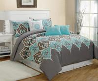 polyester mircrofiber printing bedding set /duvet cover / comforter set