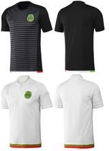 Venta al mayor Ropa de fútbol personalizada Nuevo 14/15 Camiseta de fútbol de calidad tailandesa, primera y segunda equipación
