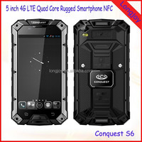 5 inch 2GB Ram Quad Core Waterproof 4G LTE Rugged Cellphone with NFC