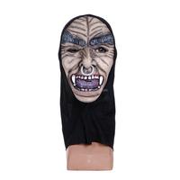 Latex Hoods Rubber Gummi Catsuit Suit Bodysuit Hood Mask Zentai Unitard Costume