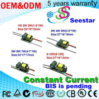 mini size low pf 3w 5w 7w 9w 12w led driver 280ma power supply for led light bulb driver ic