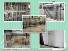 Good quality steel or aluminium fence with appropriate price: spear and ring: cheap fence posts