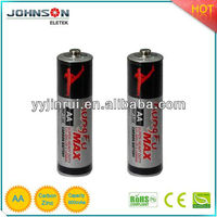 r6p battery 1.5v aa Zinc carbon dry battery