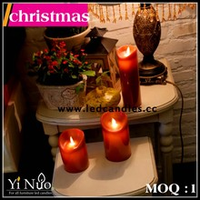 Hot Sale led candle wholesale Christmas decoration,christmas Ornament