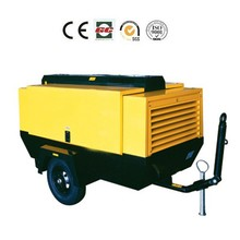 1stage compression diesel air compressor unit portable