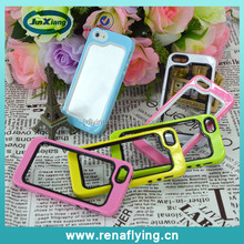 best protective case TPU frame bumper for iphone5