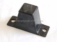 automotive rubber dumper anti-vibration blocks for truck/cars