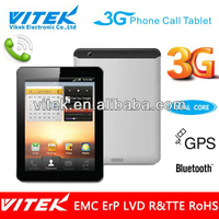 Dual Core 7.85 inch 3G Talk Lowest Price Google Tablet