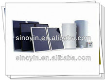 Solar panels in china with Stainless steel solar water tank