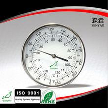 Industrial termómetro bimetálico