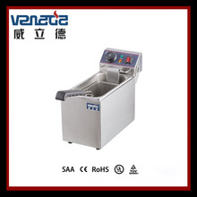 Double Commercial Deep Fryer Stainless Steel Durable with CE Certification from China Manufacturer