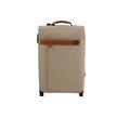 De haute qualité en cuir d'unité centrale bagages avec wheel spinner bagages éminents