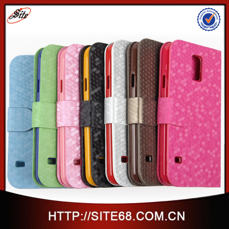 """China Flip Cover Cell Phone Leather Case,Custom 5"""" inch Leather Case,Hot Mobile Phone Leather Case for Samsung Galaxy S3 i9300"""