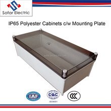 Polyester Enclosures IP65 Electrical Distribution Boxes Size 630*400*219mm