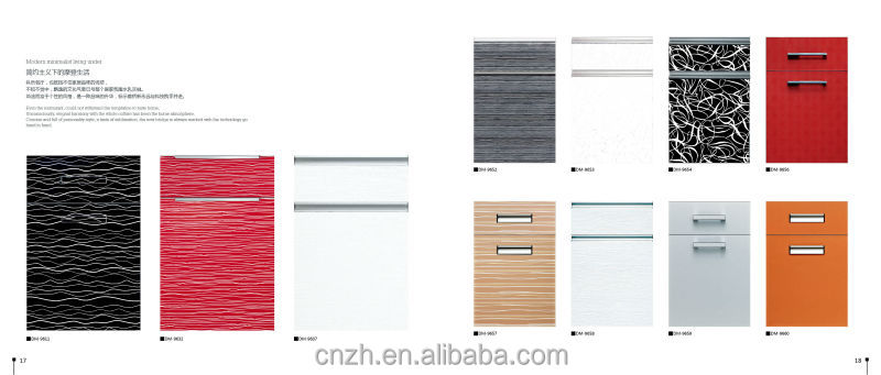 Louvered kitchen cabinet doors factory price directly view used