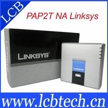 Linksys PAP2T VoIP Phone Adapter Ata / Internet Phone Adaptor 2 Port unlocked original linksys PAP2T