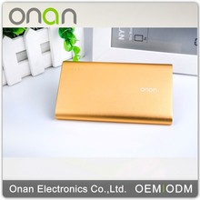 Onan make Aluminium Mini 7000mah best battery power bank