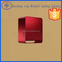 High quality aliuminum anodized stainless steel power box