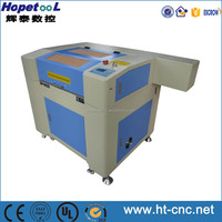 laser cutting machine for rubber leather acrylic plastic eastern with laser co2 head