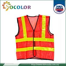 2015 new design customs logo reflective safety vest with EN471 standard