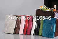 "Croco style Leather Case Cover Skin For Apple Ipad MINI 7""tablet case"