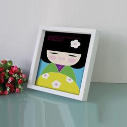 Unique Square Series Wood Photo Frame In Bulk 8x8 10x10 Inch /Cheap Deep Shadow Box Photo Frame Wholesale