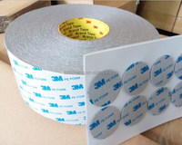 3M tape 1600T/3M 1600TG white and grey color of Double coated Polyethylene foam tape adhesive