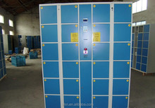 Easily to use Metal locker marine locker with Barcode lock