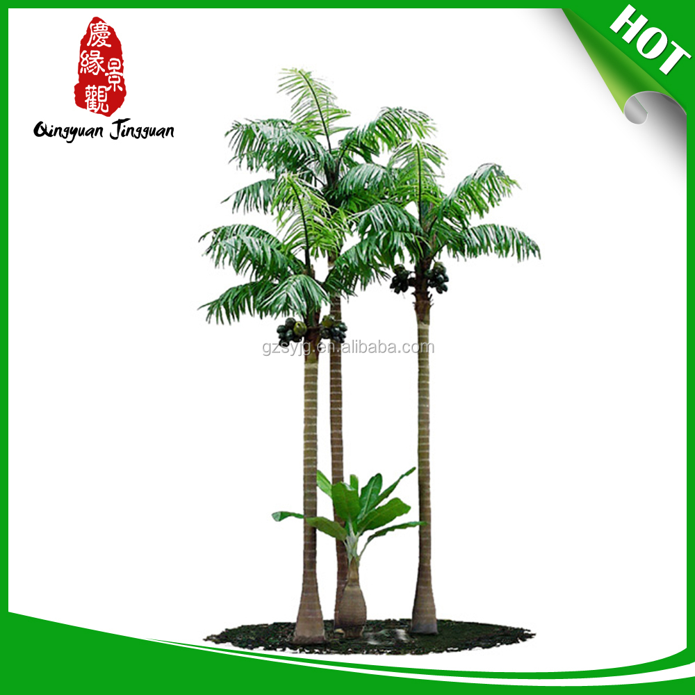 Cheap artificial trees coconut tree large outdoor bonsai for Cheap trees