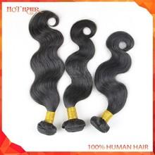 100% Unprocessed Human Hair Brazilian Hiar Weave Black Body Wave Bundles Original Brazilian Virgin Hair Weaves